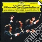 Abbado/wp - Danze Ungh. N. 1/21 cd musicale di Johannes Brahms