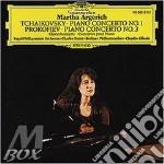 Tchaikovsky - Piano Concerto No. 1 / Prokofiev - Piano Concerto No.3 - Martha Argerich cd musicale di ARGERICH