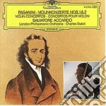Paganini - Violinkonzerte Nos. 1&2 - Accardo/Davis cd musicale di Charles Dutoit