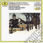 Mozart - Conc. Pf N. 20/21 - Gulda/abbado cd musicale di Gulda/abbado