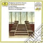 Mozart - 4 Conc. X Corno - Karajan cd musicale di Karajan