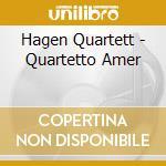 Hagen Quartett - Quartetto Amer cd musicale di DVORAK/KO