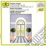 Chopin - Son. Vlc. - Rostropovich cd musicale di Rostropovich