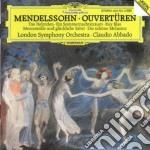 Mendelssohn - Ouvertures - Abbado cd musicale di Claudio Abbado