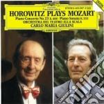 Mozart - Horowitz Plays.. - Piano Concerto No.23 K.488  Piano Sonata K.333 - Giulini cd musicale di Wolfgang Amadeus Mozart