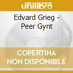 Grieg - Peer Gynt - Jarvi cd musicale di GRIEG