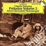 Debussy - Prel. Vol. 2 - Michelangeli cd musicale di MICHELANGELI