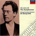 MAHLER-SINF. COMPL. SOLTI/ SINF. COM cd musicale di SOLTI/CSO