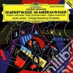 Gershwin - Rapsodia In Blu - Levine cd musicale di James Levine