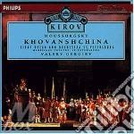KOVANSHCHINA-GERGI cd musicale di MOUSSORGSKY