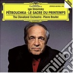 Stravinsky - Sagra - Boulez cd musicale di BOULEZ