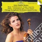 Berg - Violin Concerto / Rihm: Time Chant - Anne-Sophie Mutter cd musicale di BERG