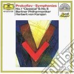 Prokofiev - Sinf. N. 1/5 - Karajan cd musicale di Karajan
