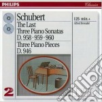 ULTIME 3 SONATE BRENDEL cd musicale di BRENDEL