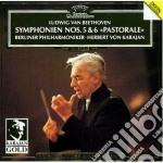 Beethoven - Sinf. N. 5/6 - Karajan cd musicale di VON KARAJAN HERBERT