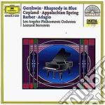 Gershwin - Rapsodia - Bernstein cd musicale di Leonard Bernestein