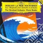 Debussy - La Mer/Nocturnes - Boulez cd musicale di DEBUSSY
