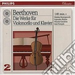 WORKS FOR CELLO AND PIANO cd musicale di RICHTER