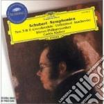 Schubert - Sinf. N. 3 & 8 - Kleiber cd musicale di KLEIBER