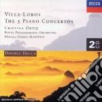 THE 5 PIANO CONCERTOS cd musicale di ORTIZ