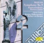SINF. 9 RUCKERT cd musicale di Gustav Mahler
