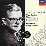 SHOSTAKOVICH-THE STRING QUARTET cd musicale di FITZWILLIAM