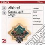 THE CONC.COMPLETE OP.9&ADAGIO cd musicale di ALBINONI