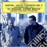 Bartok, B. - Violinkonzert Nr.2 cd musicale di BOULEZ