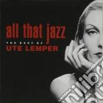 All that jazz - best - cd musicale di Ute Lemper