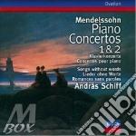 Mendelssohn - Piano Concertos Nos. 1 & 2 cd musicale di SCHIFF
