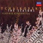 Tchaikovsky - The Seasons - Vladimir Ashkenazy cd musicale di TCHAIKOVSKY
