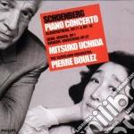Schoenberg - Piano Concerto - Uchida / Boulez cd musicale di SCHOENBERG