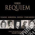 REQUIEM(BOCELLI,BORODINA,FLEMING.... cd musicale di BOCELLI/FLEMING/GERG