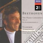 THE PIANO CONCERTOS VOL.2/ASHKENAZI cd musicale di BEETHOVEN