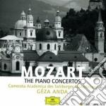 THE PIANO CONCERTOS(8CD) cd musicale di ANDA