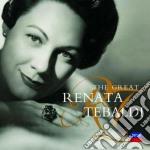 THE GREAT RENATA TEBALDI cd musicale di Renata Tebaldi