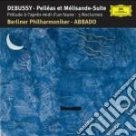 Debussy - Nocturnes - Abbado cd musicale di Claudio Abbado