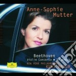 Beethoven - Conc. X Vl. - Mutter cd musicale di BEETHOVEN