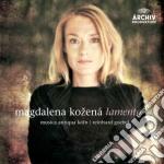 Bach - Lamento - Kozena cd musicale di KOZENA