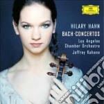 Bach - Concerti Per Violino - Hahn cd musicale di BACH JOHANN SEBASTIAN
