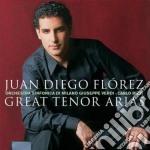 Juan Diego Florez - Great Tenor Arias cd musicale di FLOREZ