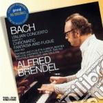 Bach - Italian Cto/chromatic Fant - Brendel cd musicale di BRENDEL