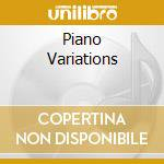 PIANO VARIATIONS                          cd musicale di RESTANI