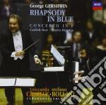 Gershwin - Rapsodia In Blue - Bollani/chailly cd musicale di BOLLANI STEFANO-RICCARDO CHAIL