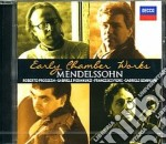 Mendelssohn - Early Chamber Works - Pieranunzi cd musicale di Pieranunzi
