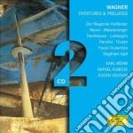 OUVERTURES E PRELUDI                      cd musicale di KARAJAN