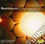 Beethoven - Sinfonie N. 5 E 7 - Karajan/bp cd musicale di BEETHOVEN