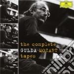 THE COMPLETE GULDA-MOZART TAPES           cd musicale di GULDA