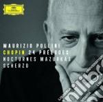 Chopin - 24 Preludi/mazurke/notturn - Pollini cd musicale di Pollini