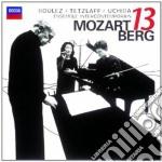 Berg / Mozart - Kammerkonzert/gran Partita - Uchida/boulez cd musicale di UCHIDA/BOULEZ